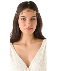 House of Harlow 1960 - Metallic Coin Headpiece - Lyst