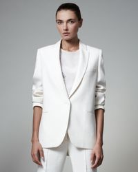 Stella McCartney - White Boyfriend Jacket - Lyst