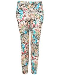 Topshop | Coord Floral Print Trousers | Lyst