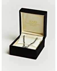 Nonnative - Metallic Nonnative Mens Twist Link Bracelet for Men - Lyst