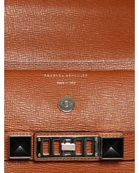 Proenza Schouler | Brown Ps11 Classic Textured Leather Bag | Lyst