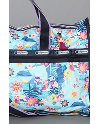LeSportsac   Blue The Disney X Lesportsac Large Weekender Bag with Charm in Tahitian Dreams   Lyst