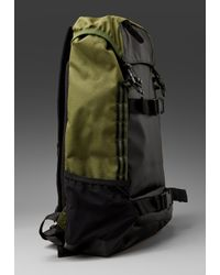 Nixon | Green Landlock Backpack for Men | Lyst