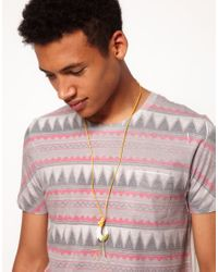 ASOS | Asos Fish Hook Necklace for Men | Lyst