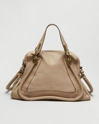 Chloé | Natural Paraty Medium Satchel | Lyst
