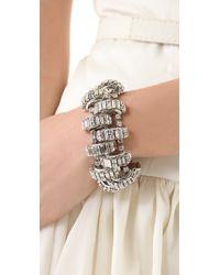 Erickson Beamon - Metallic Bette Eye Bracelet - Lyst