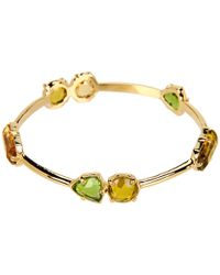kate spade new york - Metallic Desert Stone Bangle - Lyst