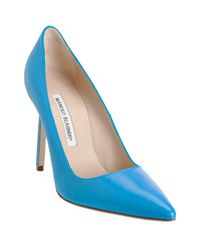 Manolo Blahnik | Blue Bb Pump  | Lyst