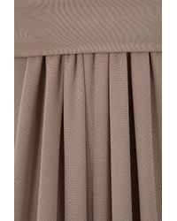 Elie Saab - Brown Long Sleeved Jersey Gown - Lyst