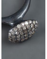 Rosa Maria | Metallic Basha Ring | Lyst