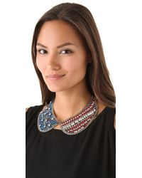 DANNIJO | Red Liberty Necklace | Lyst