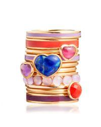 Astley Clarke - Yellow Secret Heart Lapis Ring - Lyst
