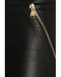 Emilio Pucci | Black Stretch Leather Skinny Pants | Lyst
