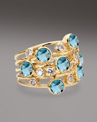 Ippolita - Metallic Topaz Diamond Constellation Ring - Lyst