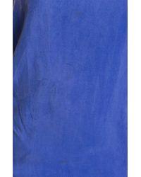 Kelly Wearstler | Blue Water Washed Eden Dress in Sapphire | Lyst