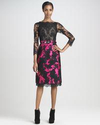 Erdem   Black Ariel Lace Dress   Lyst