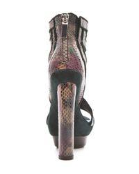 Rachel Zoe   Brown Payton High Heel Sandals   Lyst