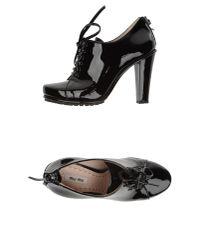 Miu Miu | Black Ankle Boots | Lyst