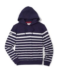 Brooks Brothers | Blue Striped Pullover Hoodie for Men | Lyst