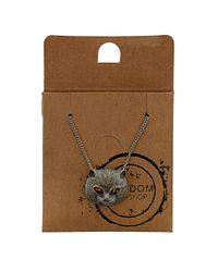 TOPSHOP - Metallic Cat Necklace - Lyst
