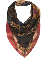 Topshop | Multicolor Lock and Key Scarf By Beta | Lyst