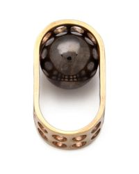 Kelly Wearstler - Metallic Hooded Ball Ring - Lyst