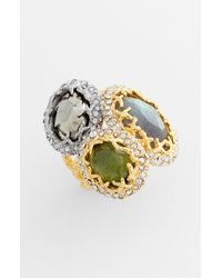Alexis Bittar | Multicolor Elements Siyabona Cluster Stone Ring | Lyst