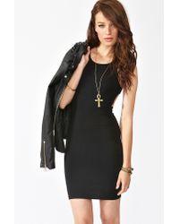 Nasty Gal - Black Rowena Cutout Dress - Lyst