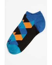Happy Socks | Blue Low Cut Socks for Men | Lyst