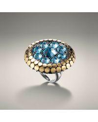 John Hardy | Blue Round Ring | Lyst