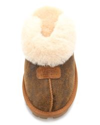 UGG - Brown Coquette Slippers - Lyst