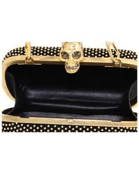 Alexander McQueen | Gold Classic Skull W Strap | Lyst
