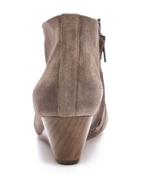 Coclico - Brown Killian Wedge Booties - Lyst