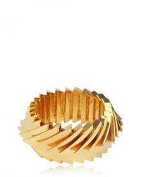 Eddie Borgo - Metallic Overlapping Triangle Bracelet - Lyst