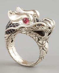 John Hardy - Metallic Naga Dragon Ring for Men - Lyst