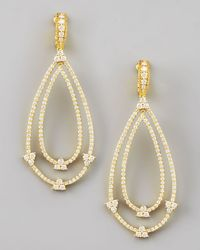 Judith Ripka | Yellow Gothic Estate Earrings | Lyst