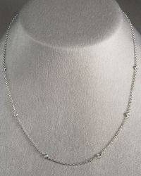 Penny Preville | Metallic Diamond Eyeglass Chain 18l | Lyst