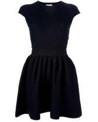 RED Valentino | Blue Aline Dress | Lyst