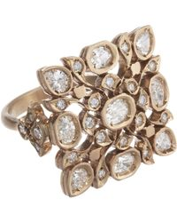 Anaconda - White Diamond Avesh Ring - Lyst
