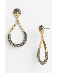 Judith Jack | Metallic Gold Sea Open Teardrop Earrings | Lyst