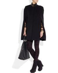 Alexander McQueen | Black Jacquard Knitted Leggings | Lyst