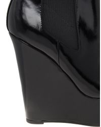 ASOS   Black Asos Attend Chelsea Wedge Ankle Boots   Lyst