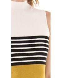 Milly | Yellow Rita Sweater Dress | Lyst