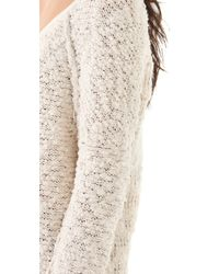 Free People | Natural Songbird Pullover | Lyst