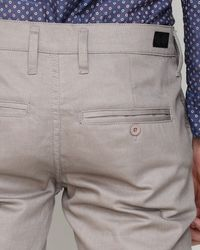 Cheap Monday | Gray Slim Chino in Grey Brown for Men | Lyst
