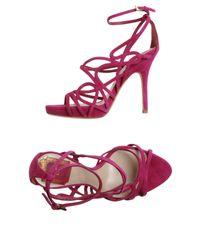 Dior | Purple Platform Sandals | Lyst