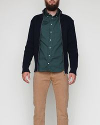 S.N.S Herning | Blue Fang Cardigan for Men | Lyst