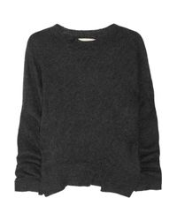 Vanessa Bruno - Gray Alpaca Sweater - Lyst