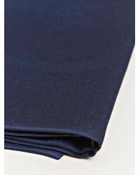 Haider Ackermann - Blue Womens Silk Blend Foster Scarf - Lyst