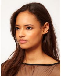 ASOS - Metallic Eclectic Earring and Ear Cuff Pack - Lyst